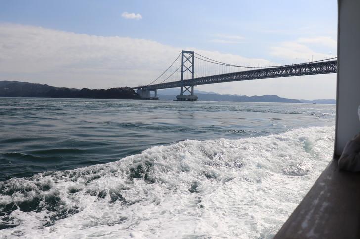 大鳴門橋が見えてきた!!