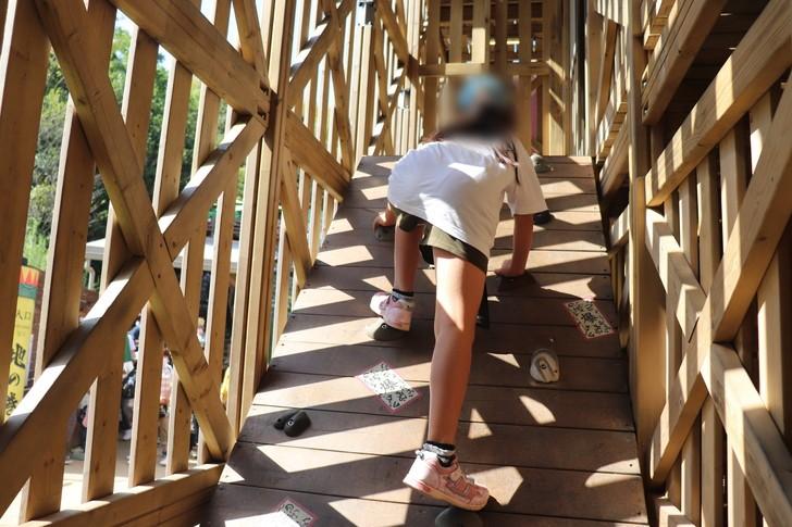 NARUTO&BORUTO忍里の巨大立体迷路「うずまきコース」試練