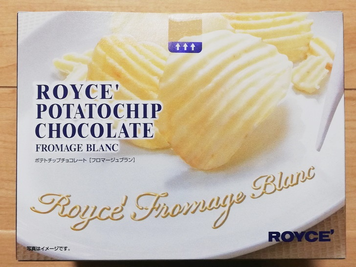 ポテトチップチョコレート【フロマージュブラン】のパッケージ