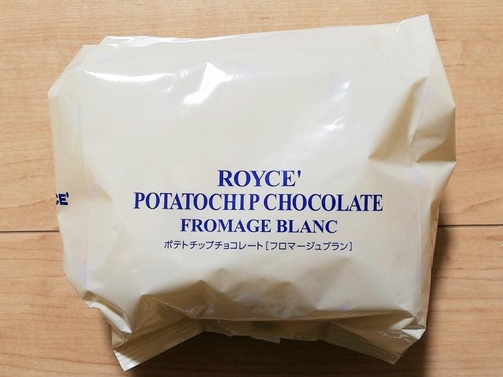 ポテトチップチョコレート【フロマージュブラン】を食べたよ!!