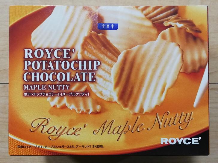 ポテトチップチョコレート【メープルナッティ】のパッケージ