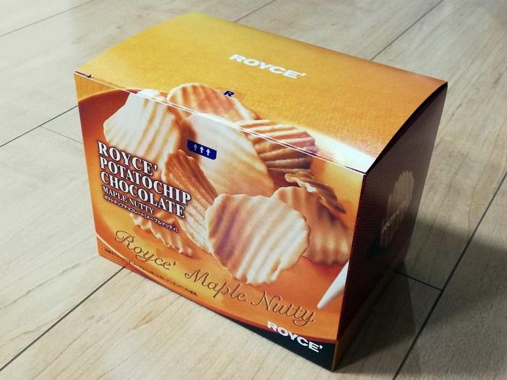 ポテトチップチョコレート【メープルナッティ】のカロリー