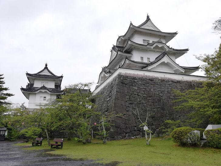 複合式天守の伊賀上野城