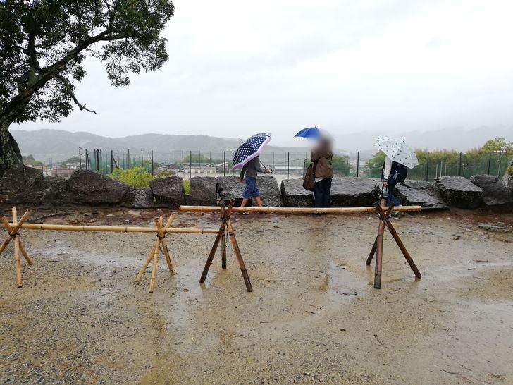 伊賀上野城の高石垣!!高さは?
