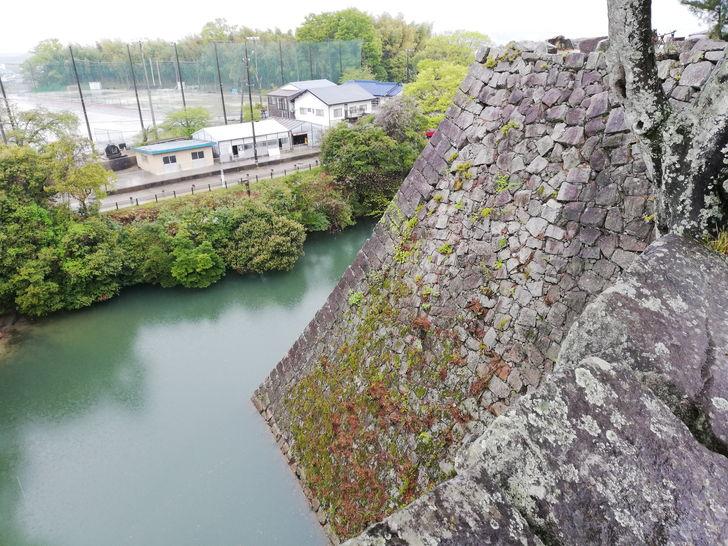 高すぎ!!約30mの伊賀上野城の高石垣