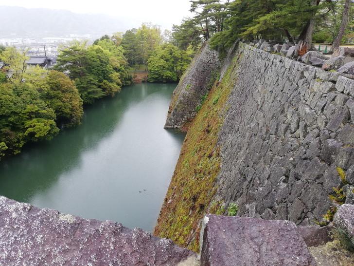 伊賀上野城の「日本一の高石垣」