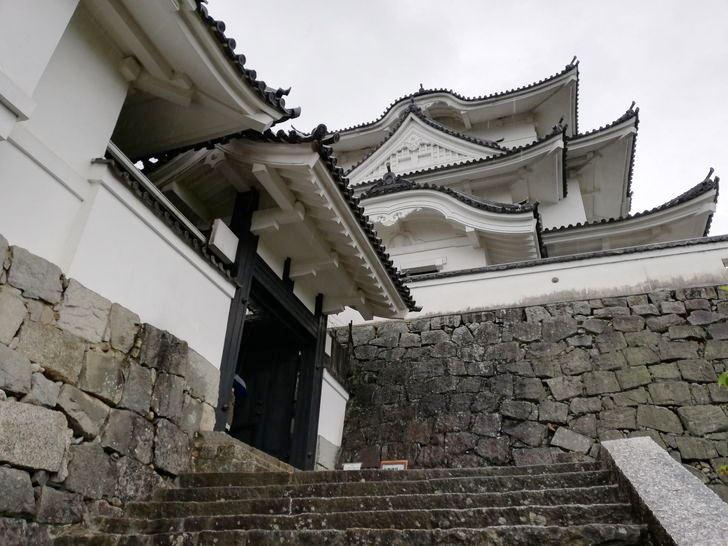 伊賀上野城の天守閣は歴史博物館