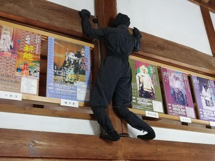 伊賀上野城の大天守1階・2階