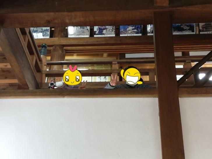 伊賀上野城の大天守1階
