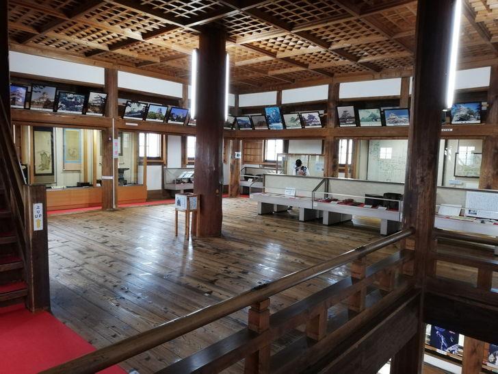 伊賀上野城の大天守2階