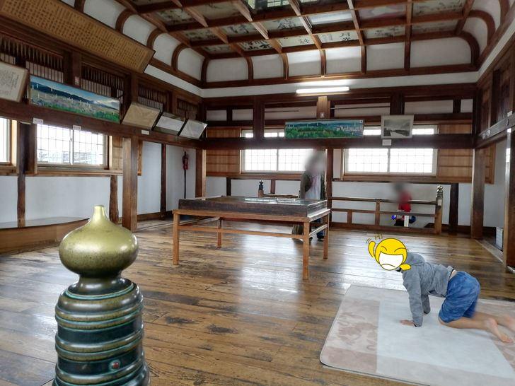 伊賀上野城の大天守3階