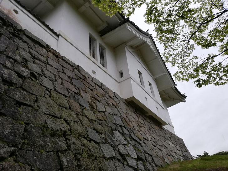 伊賀上野城の石垣も立派