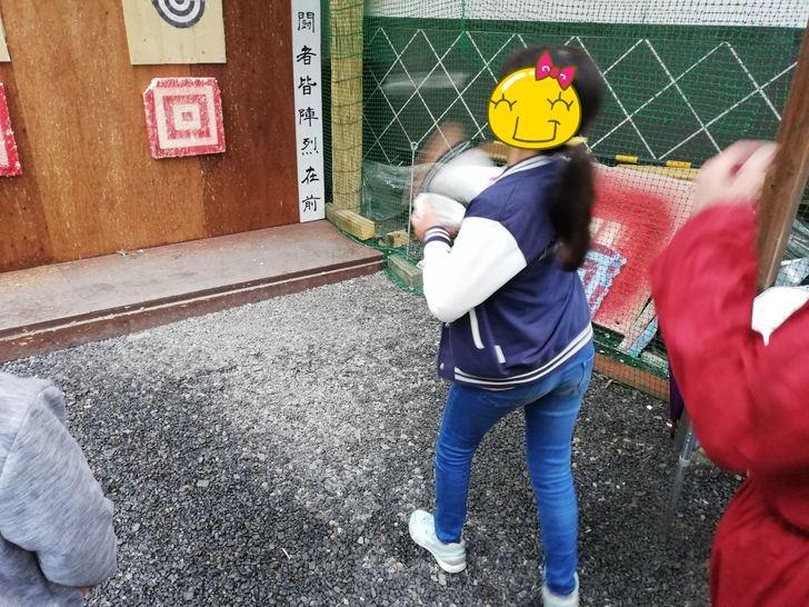 伊賀流忍者博物館「本物の手裏剣を使って的を狙え!!」