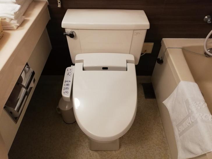 鈴鹿サーキットホテル『North館』レーシングルームのトイレ