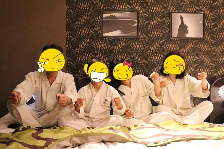 鈴鹿サーキットホテル『North館』レーシングルームの浴衣